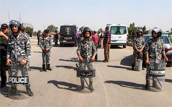 security forces in egypt make up 6 suspected terrorists