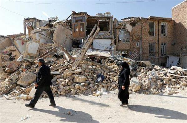 strong 6 0 quake hits western iran