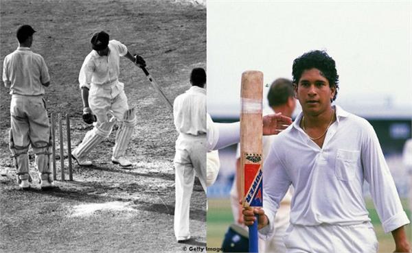 sachin first test century bradman last innings