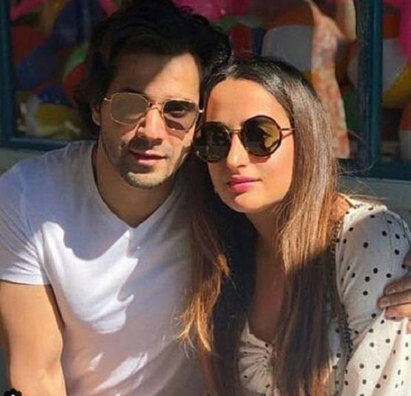 varun dhawan with girlfriend natasha dalal enjoy london vacation