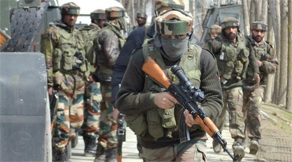 solider injured in encounter kashmir