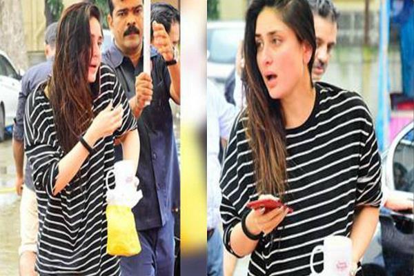 kareena kapoor khan spotted at bandra