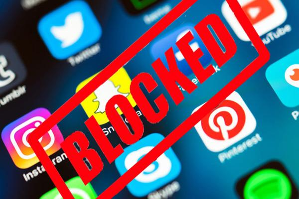 government looking for ways to block social media apps