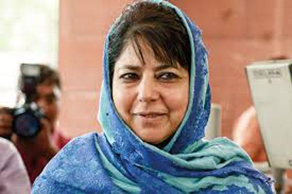 mehbooba is hopeful after modi and imran talk