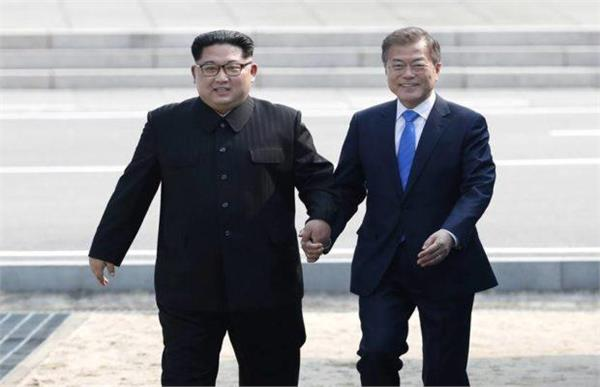kim jong and moon begin preparations for talks officials meeting in progress