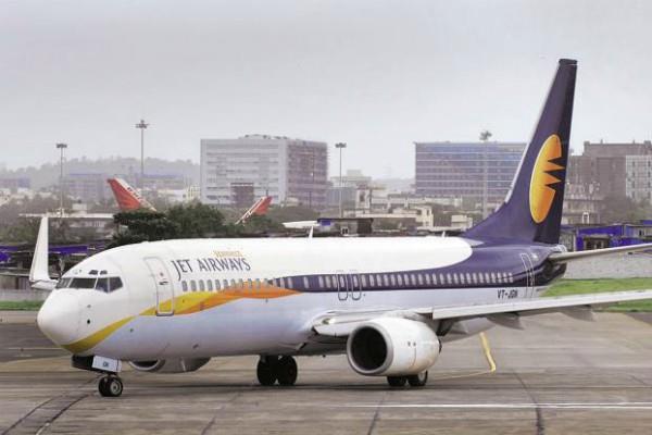 jet airways plane descends from runway all passengers safe