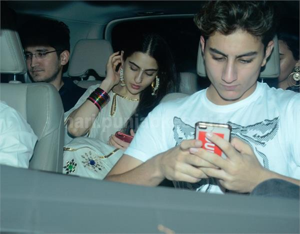 many celebs attend sara ali khan birthday bash