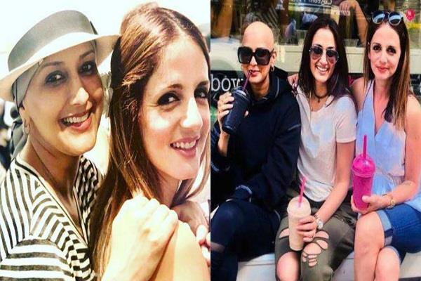 sussanne khan shares pictures with sonali bendre