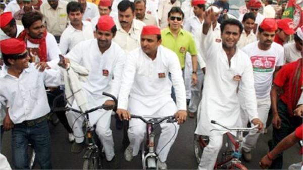 mission 2019  akhilesh yadav will remove cycling