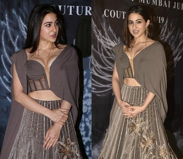sara ali khan bold look at fashion show