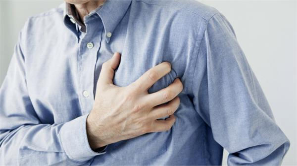 reduced risk of heart attack in men is doubly less than men