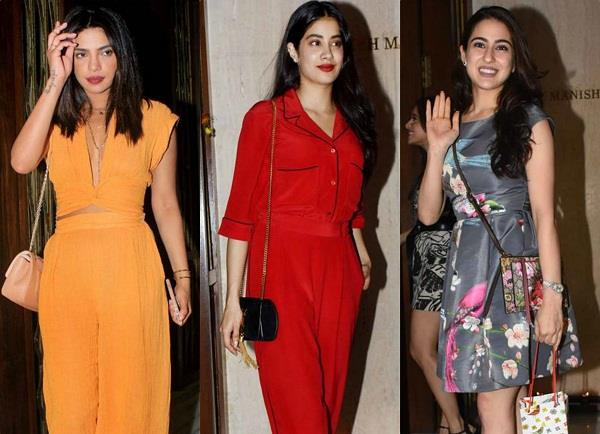 bollywood stars at manish malhotra bash