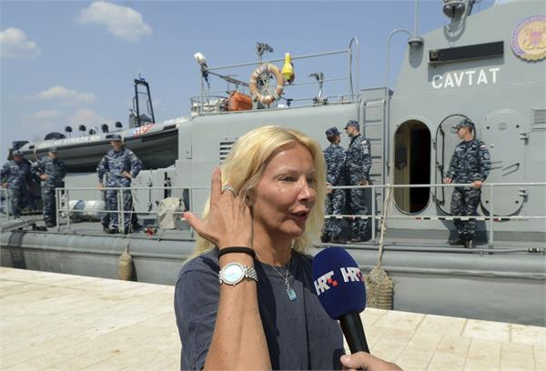 british woman rescued after 10 hours in sea off croatia