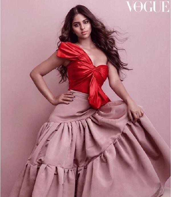 suhana khan troll for first photoshoot