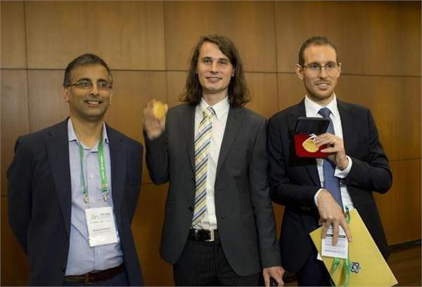 indian australian professor awarded the fields medal