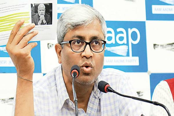 aap leader ashutosh and controversy