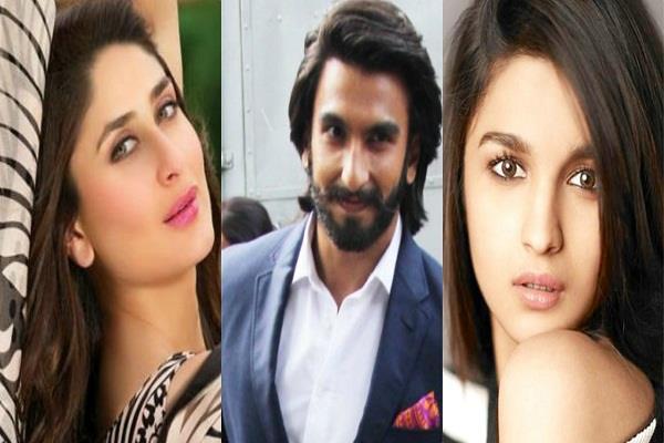 kareena kapoor and alia bhatt to join ranveer singh in karan johar next movie