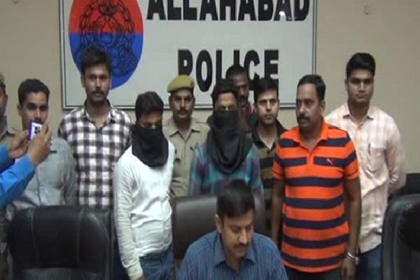 allahabad police arrest badmash