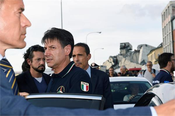 italy pm declares state of emergency after bridge collapse