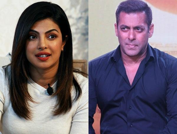 salman khan reaction on priyanka chopra