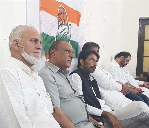 congress is the only option in jk said mir