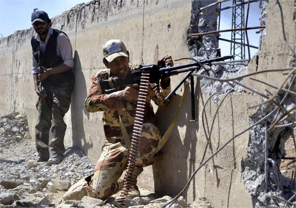 28 isis fighters killed in syria