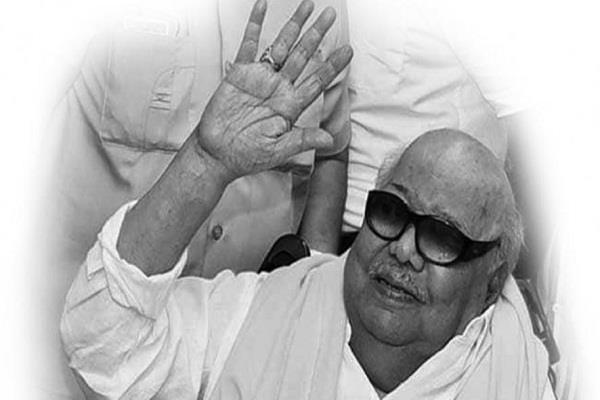 tamilnadu karunanidhi death madras high court jayalalithaa