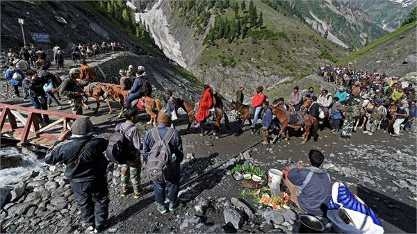 137 pilgrims leave for amarnath