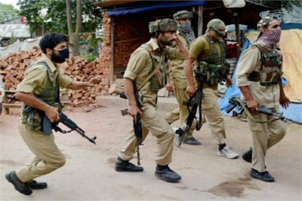 militants killed police cop on eid