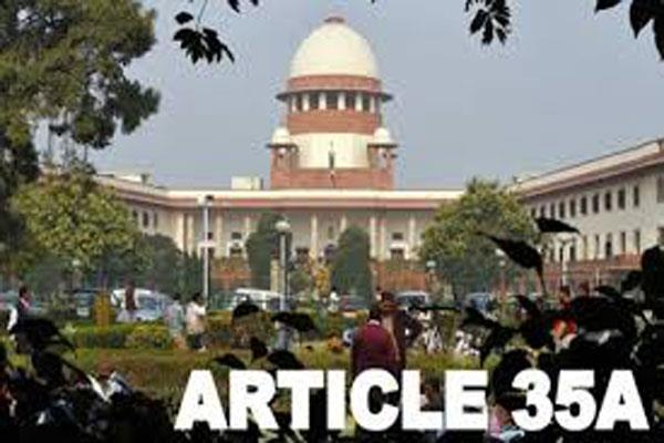 govt appeal sc to delay hearing on article 35a