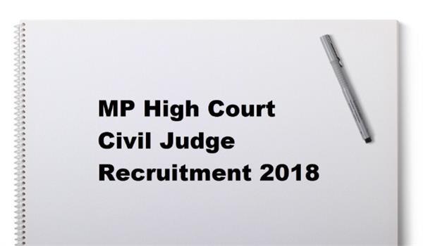 notification for recruiting 140 judges of civil judges