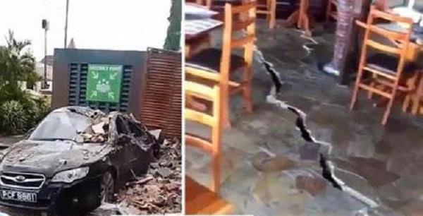 strong quake rocks venezuela buildings evacuated in capital