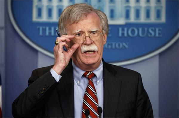 john bolton warns of interference from china iran and north korea