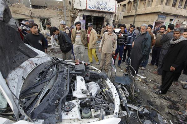 car bomb blast in iraq s security naka 8 killed