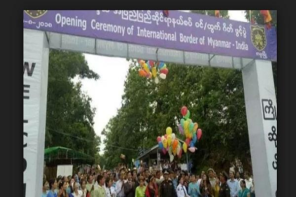 indo myanmar land border officially opened