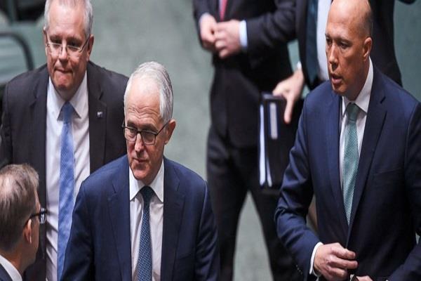trump congratulates new prime minister morrison for australia