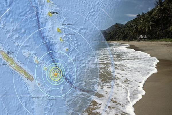 earthquake shocks in new caledonia of south pacific