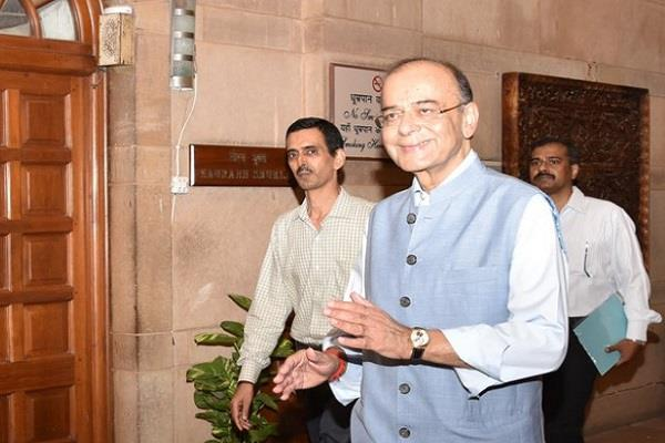 jaitley handled the finance ministry charge