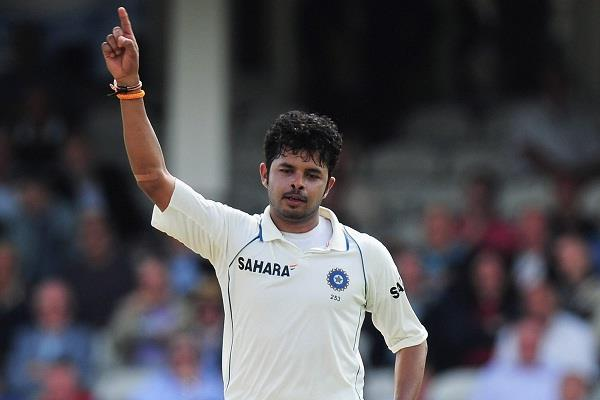 surprising return to sreesanth in the field