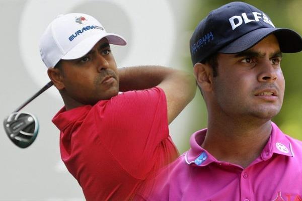 Image result for गोल्फर लाहिड़ी और शुभंकर शर्मा कट से चूके