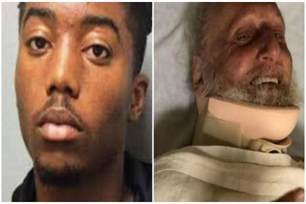 california the elder who attacked the elderly son of police chief arrested
