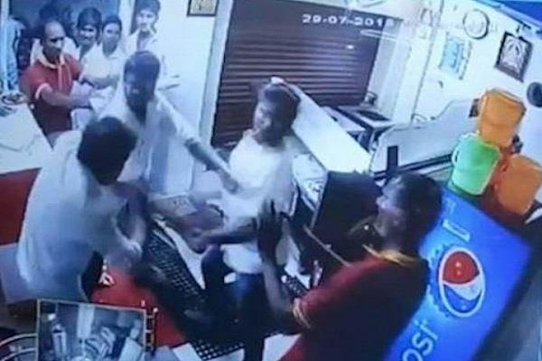 dmk yuvraj video viral salem rr biryani shop