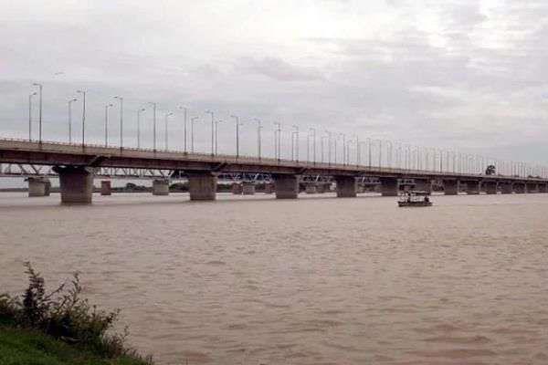 yamuna speed up ganga water level rise
