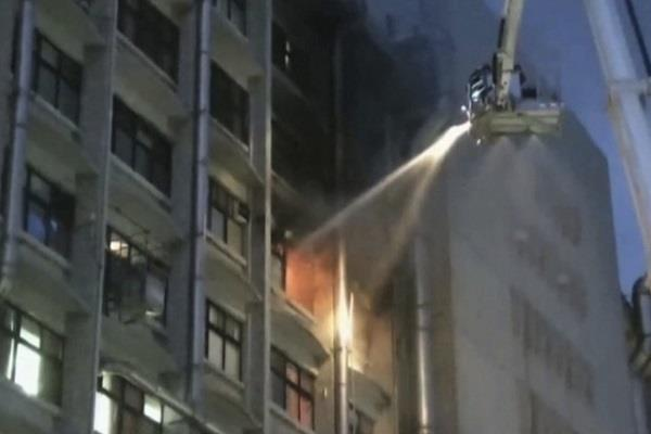taiwan fire in hospital 9 people killed and 16 injured