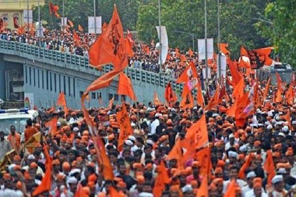 maratha reservation movement in mumbai