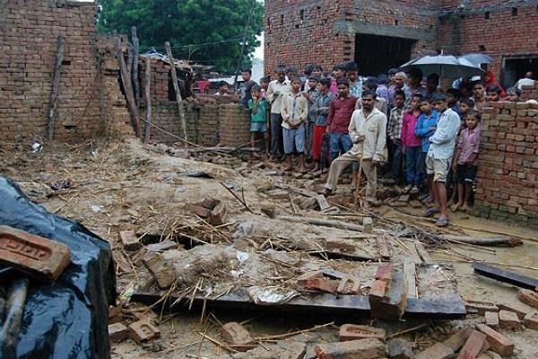amethi five person dead in havy rain