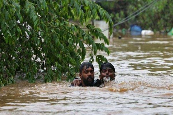 kerala floods cycling donations
