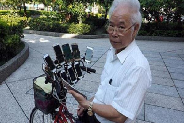pokemon playing the game on the elderly hobbies playing on the bike 11 phones