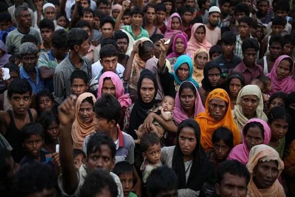 rohingya life in refugee camp
