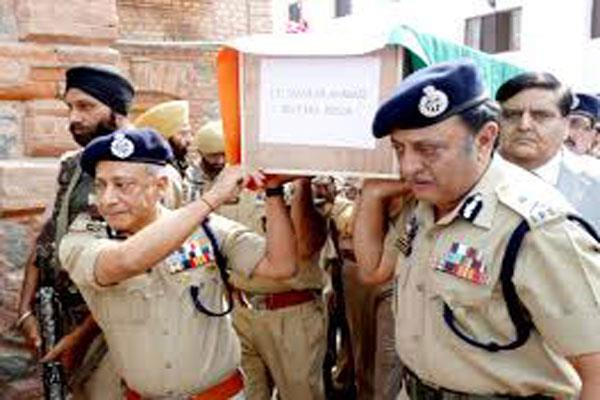 jk police launched campaign for financial aid of martyrs
